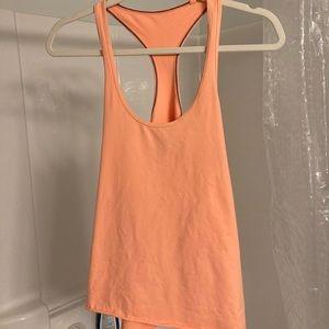 Bright orange 🍊 lululemon razor back tank